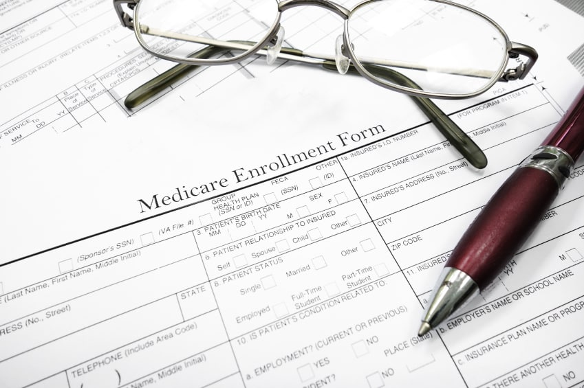 Social Security Medicare Enrollment form