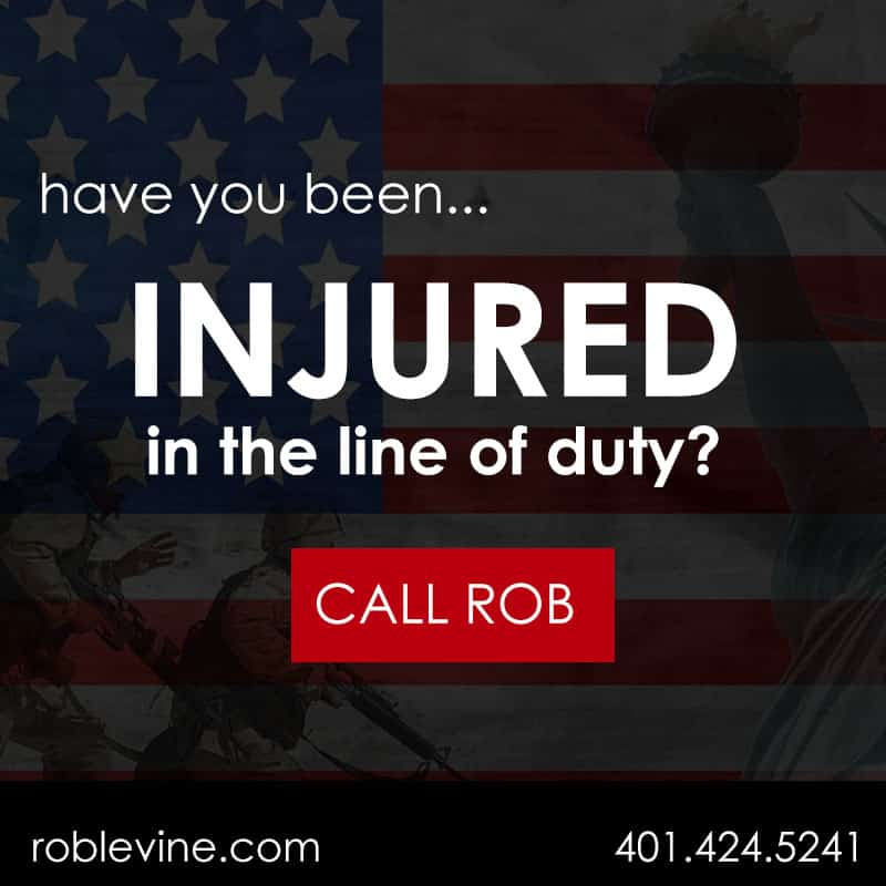 Have you been injured in the line of duty? Call Rob Levine and let us help you with your VA Veterans Disability Claim.